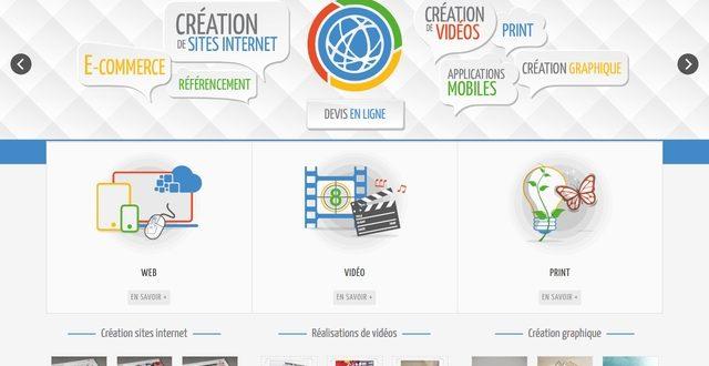 Création de site internet avec Noviatis
