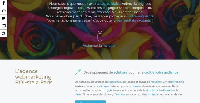 Agence internet en Webmarketing Blue Agency