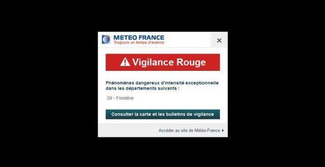 Prévisions météo de Meteo France