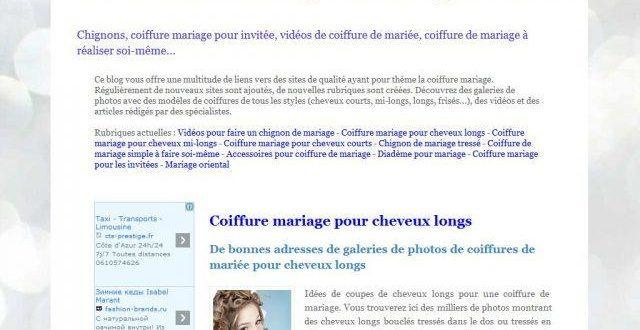 Coiffure mariage : photos, tutos vidéos et accessoires coiffure