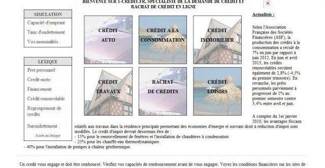 Demander un crédit sur 1-credit.fr