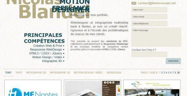 Infographiste 3D et WebDesigner Freelance Nantes