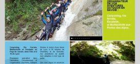 Canyoning, escalade et via ferrata en Savoie