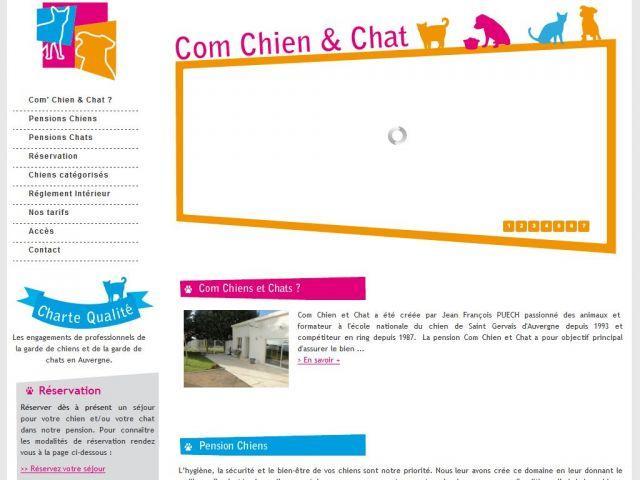 Pension pour chiens et chats en Auvergne – Com Chat Chien