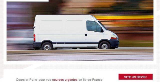 Coursier international à Paris