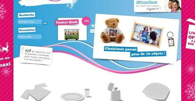 Customisez vos cadeaux avec vos photos, texte et motifs