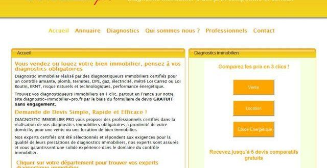 Quel diagnostic immobilier faut il faire?