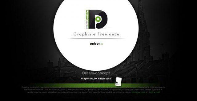 Infographiste freelance à Lille, Dream-concept