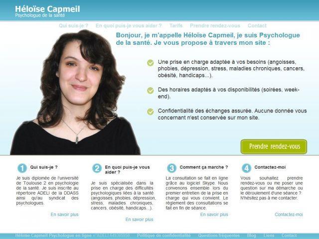 Héloise Capmeil – Psychologue en ligne
