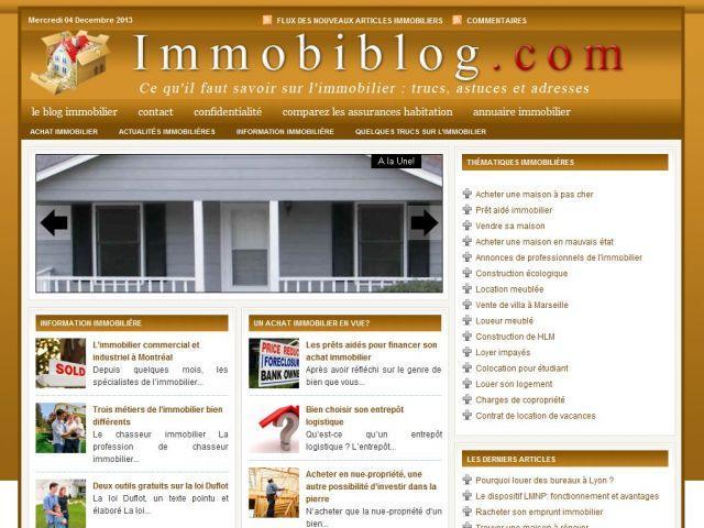 Blog de l'immobilier