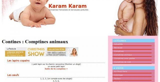 Comptines pour enfants avec Karam-Karam