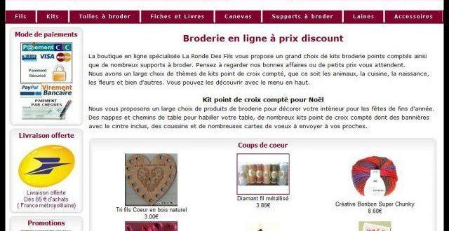 Broderie La Ronde Des Fils