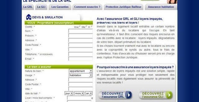 Assurance loyer impayé GRL