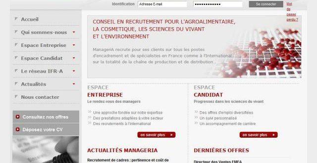Cabinet en recrutement agroalimentaire