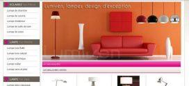 Lampe design, luminaire déco et abat jour sur My-lampes.com