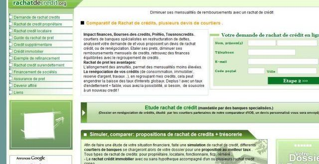 Rachat de credits avec rachatdecredit.org