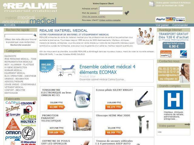 Materiel medical Realme