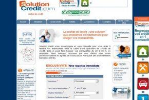 Rachat de crédits avec Solution Credit